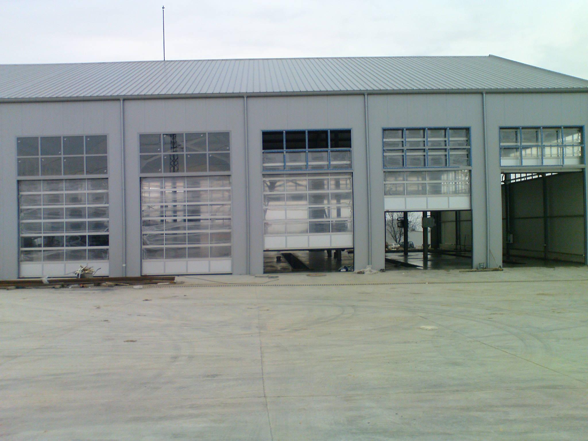 Индустриални секционни врати - 3